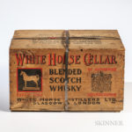 White Horse Cellar, c. 1949, full case (Lot 1852, Estimate: $3,600-4,800)
