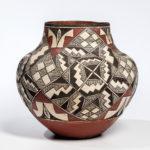 Southwest Polychrome Pottery Olla, Acoma, c. 1900 (Lot 355, Estimate: $2,500-3,500)
