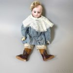 Bru Jne Bisque Head Doll (Lot 1020, Estimate: $800-1,200)