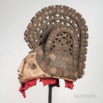 Large Ibo-style Carved Mask (Lot 1515, Estimate: $20-200)