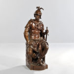 Paul Dubois (France, 1827-1905) Le Courage Militaire (Lot 1454, Estimate: $3,000-5,000)