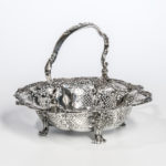 George II Sterling Silver Cake Basket (Estimate: $4,000-6,000)