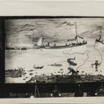 Folk Painting of Sponge Diving Scene in Curio Shop, Florida, 1941 (Lot 80, Estimate: $1,500-2,500)