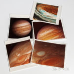 Jupiter, Pioneer and Voyager, Forty-seven NASA Photographs and Other Material (Lot 2293, Estimate $1,500-2,000)