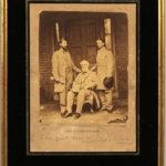 Lee, Robert E. (1807-1870) Photograph Signed by Matthew Brady, Gen. R.E. Lee and Staff (Lot 1039, Estimate $4,000-6,000)
