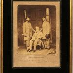 Lee, Robert E. (1807-1870) Photograph Signed by Matthew Brady, Gen. R.E. Lee and Staff (Lot 1039, Estimate $4,000-6,000)