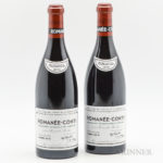 Domaine de la Romanee Conti Romanee Conti 2010 (2 bts) (Lot 135, Estimate: $26,000-38,000)
