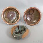 Three David Cornell and Mark Hewitt Studio Pottery Items (Lot 2099, Estimate: $200-300)