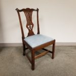 Chippendale Carved Mahogany Side Chair (Lot 2212, Estimate: $300-500)