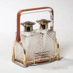 Hermes-type Equestrian Decanter Set (Lot 3051, Estimate: $600-1,000)