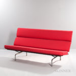 Charles and Ray Eames Compact Sofa (Lot 1, Estimate: $1,200-1,600)