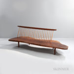 George Nakashima (1905-1990) Conoid Bench (Lot 195, Estimate: $40,000-60,000)