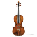 Dutch Violin, Johannes Theodorus Cuypers, The Hague, c. 1780 (Lot 1030, Estimate: $20,000-30,000)