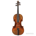 Italian Composite Violin, Ascribed to Pietro Giovanni Mantegazza (Lot 1032, Estimate: $20,000-30,000)