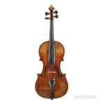 Violin, in the Manner of Enrico Ceruti (Lot 1033, Estimate: $8,000-12,000)