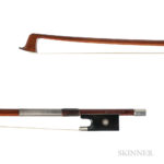 French Silver-mounted Violin Bow, Eugene Sartory (Lot 1042, Estimate: $7,000-9,000)