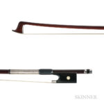 French Silver-mounted Violin Bow, Joseph Alfred Lamy (Lot 1043, Estimate: $5,000-7,000)