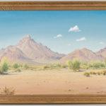 Norman Henry Yeckley (American, 1914-1994) Desert Landscape (Lot 1007, Estimate: $600-800)