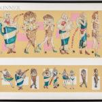 American School, 20th Century,  Ice Cream Couture (Lot 1012, Estimate: $400-600)