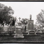 Art Sinsabaugh (American, 1924-1983) Funeral Monuments and Cemetery (Lot 1039, Estimate: $250-350)