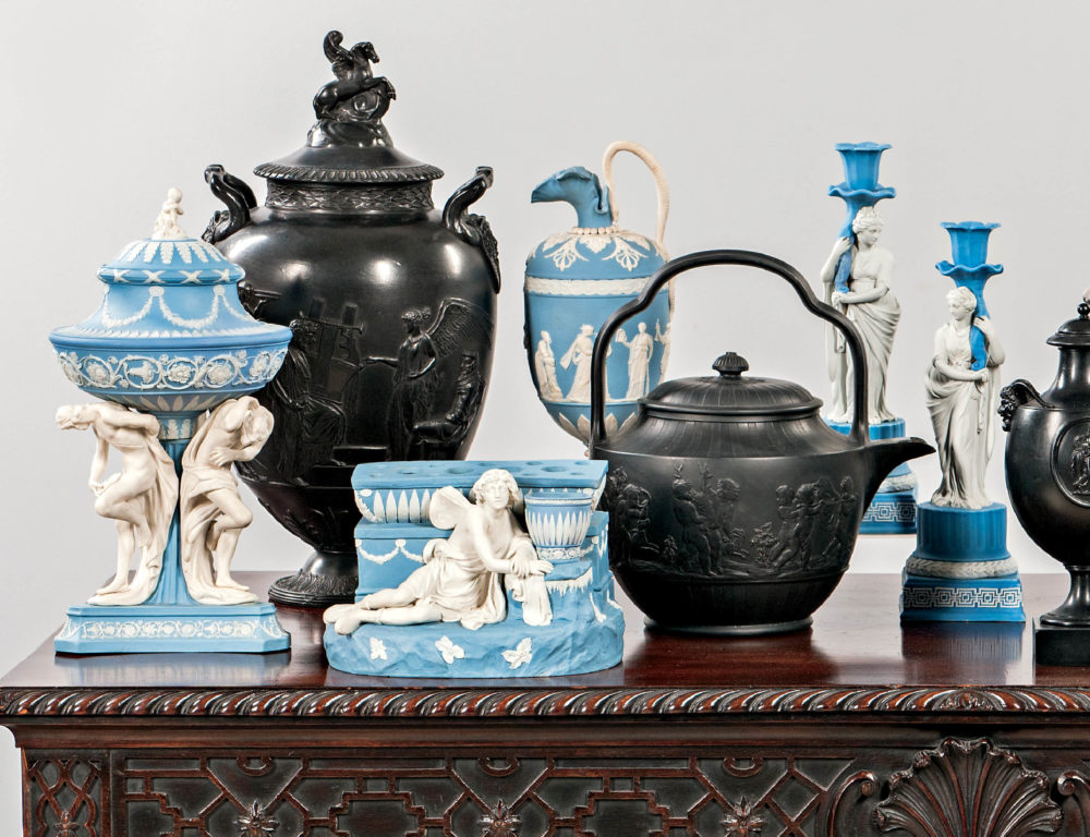 3115B  |  European Furniture & Decorative Arts featuring Fine Silver & Ceramics