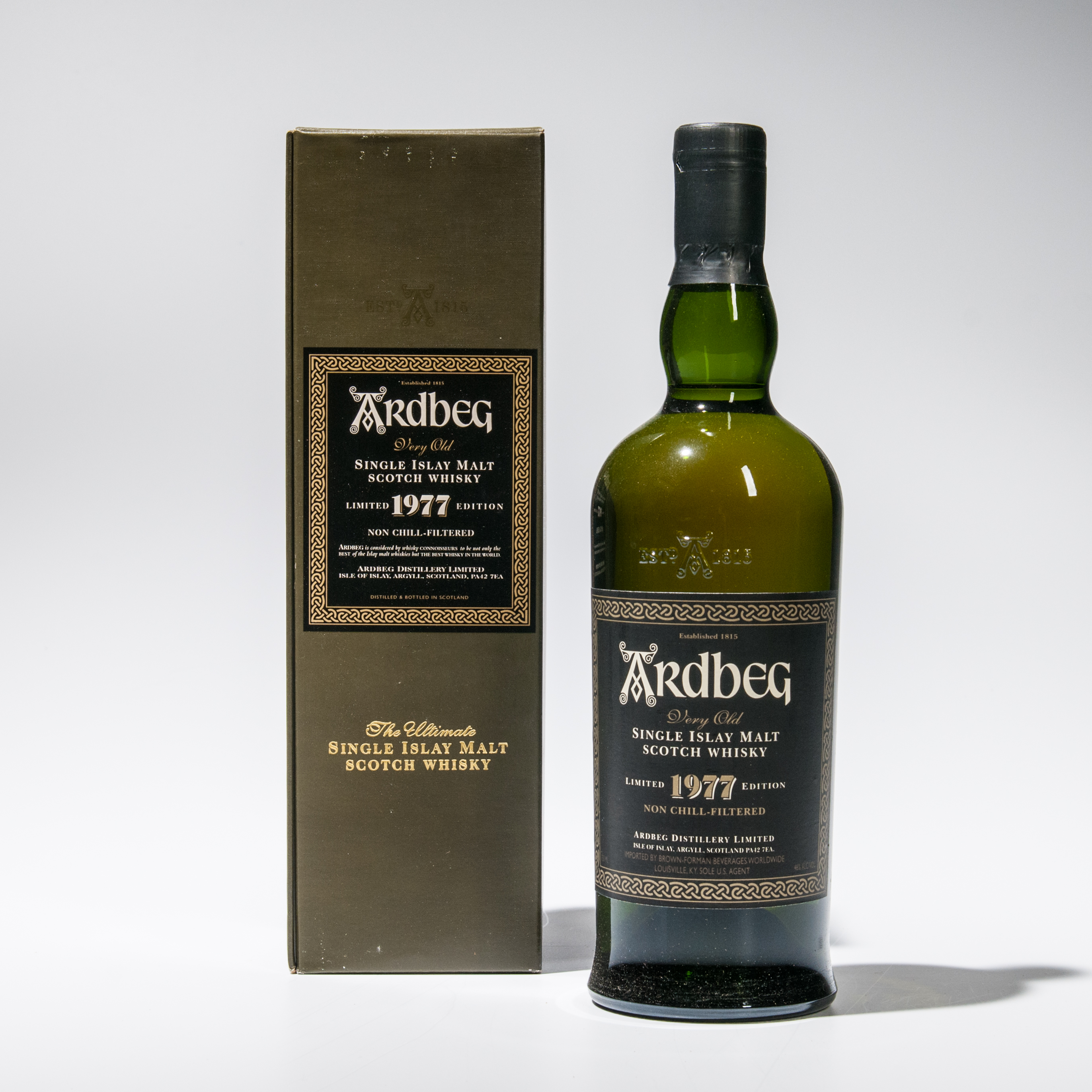 Ardbeg 1977 (Lot 1739, Estimate: $400-500)