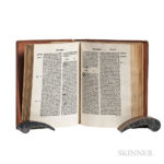 Higden, Polycronicon, 1495 (Lot 91, Estimate: $40,000-50,000)