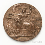 1896 Olympic Bronze Participation Medal (Lot 1194, Estimate: $400-600)