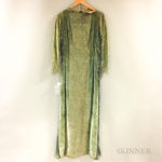 Mariano Fortuny Velvet and Silk Gown (Lot 1371, Estimate: $1500-2500)