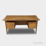Peter Lovig Nielson Teak Desk for Lovig Dansk (Lot 1012, Estimate $300-500)