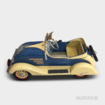 Chrysler Airflow Polychrome Steel Pedal Car (Lot 1019, Estimate $1,000-1,500)