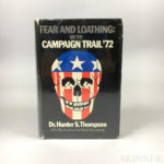 Thompson, Hunter S. (1937-2005) Fear and Loathing: on the Campaign Trail