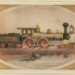Framed Lithograph The Hinkley Locomotive Works, Boston, (Lot 1455, Estimate $300-$500)