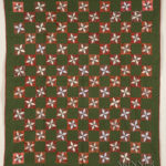 Pieced Cotton Quilt, late 19th/early 20th century, (Lot 1466, Estimate $300-$500)