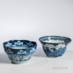 Two Blue and White Bowls (Lot 1346, Estimate: $200-300)