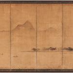 Six-panel Folding Screen (Lot 522, Estimate: $10,000-15,000)