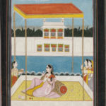 Miniature Painting, India, 18th/19th century, Pahari school (Lot 30, Estimate: $400-600)