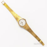 Omega 18kt Gold Lady's Wristwatch (Lot 2162, Estimate: $700-900)