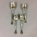 Four Tiffany & Co. Sterling Silver Serving Pieces (Lot 2646, Estimate: $300-400)