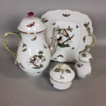 "Four Pieces of Herend ""Rothschild Bird"" Porcelain Tableware (Lot 1000, Estimate: $700-900)"
