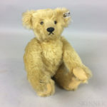 Steiff Blonde Mohair Teddy Bear (Lot 1015, Estimate: $500-700)