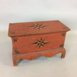 Miniature Country-style Paint-decorated Poplar Blanket Chest (Lot 1165, Estimate: $200-250)