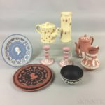 Twelve Modern Wedgwood Jasper Items (Lot 1258, $200-300)