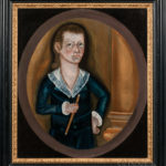 Rufus Hathaway (Massachusetts, 1770-1822) Portrait of a Boy with a Fife (Lot 303, Estimate: $6,000-$8,000)