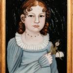 Benjamin Greenleaf (Massachusetts/New Hampshire, 1769-1821) Portrait of Mary Ann Cushing Nichols (Lot 342, Estimate: $2,500-$3,500)