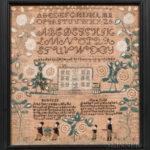 "Needlework Sampler ""Mary Ann Babcock,"" Westerly, Rhode Island, 1826 (Lot 295, Estimate: $8,000-$12,000)"