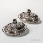 Two Kirk & Son .917 Silver Covered Tureens (Lot 75, Estimate: $12,000-18,000)