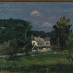 John French Sloan (American, 1871-1951), White House, Pennsylvania (Lot 335, Estimate: $15,000-20,000)