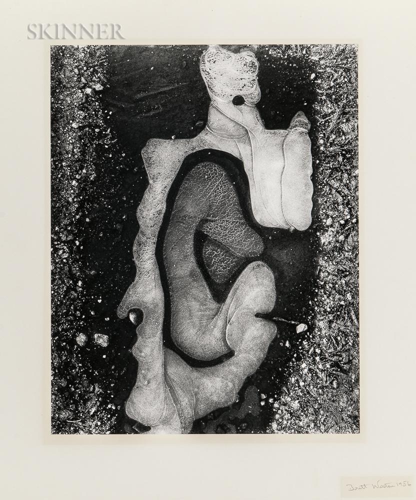 Brett Weston (American, 1911-1993) Ice Forms, California, 1956 (Lot 138, Estimate: $1,000-1,500)