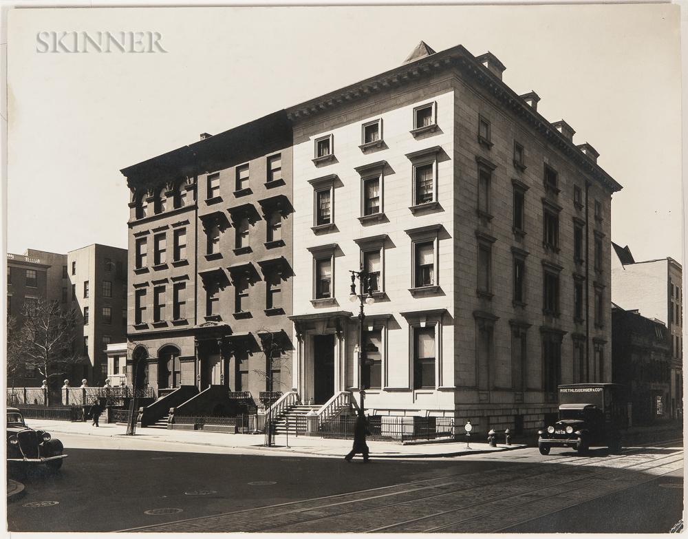 Berenice Abbott (American, 1898-1991) Fifth Avenue, Nos. 4, 6, 8, Manhattan, 1936 (Lot 115, Estimate: $2,000-3,000)